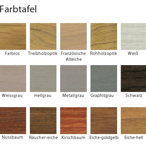 Laminat farben tabelle  Blanchon Blumor Hartwachsöl B632 1 L Lacke & Öle Öle & Wachse