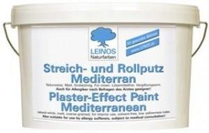 leinos streich rollputz mediterran 680 10 l wand decke putze. Black Bedroom Furniture Sets. Home Design Ideas