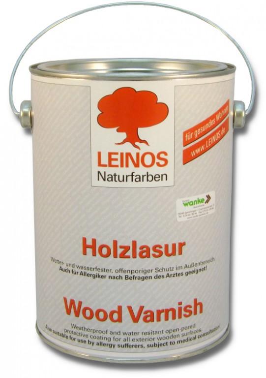 leinos holzlasur f r innen 261 2 5 l lacke le lacke lasuren. Black Bedroom Furniture Sets. Home Design Ideas
