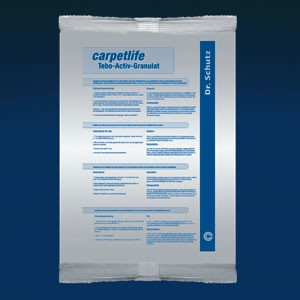 cc dr schutz carpetlife tebo activ granulat 1 kg pflege reinigung f r teppich synthetikfaser. Black Bedroom Furniture Sets. Home Design Ideas
