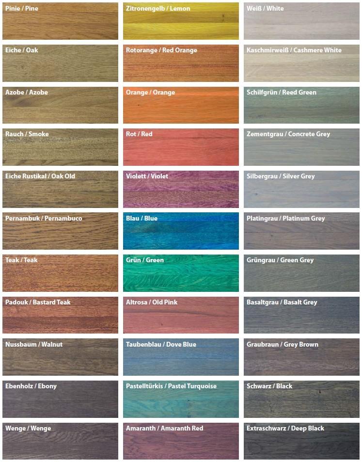 Laminat farben tabelle  Laminat Farben Tabelle | harzite.com