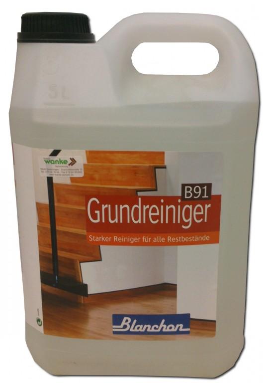 blanchon blumor grundreiniger polish remover b91 5 l pflege reinigung f r parkett versiegelt. Black Bedroom Furniture Sets. Home Design Ideas