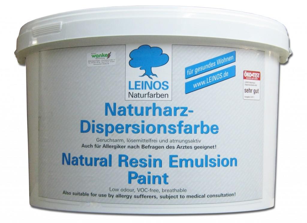 leinos naturharz dispersionsfarbe 660 10 l wand decke. Black Bedroom Furniture Sets. Home Design Ideas